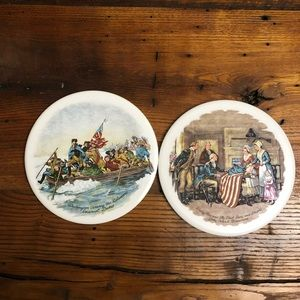 Historical Trivets/Wall Hanging (2)